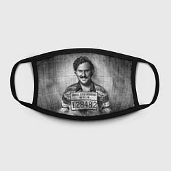 Маска для лица Пабло Эскобар цвета 3D — фото 2