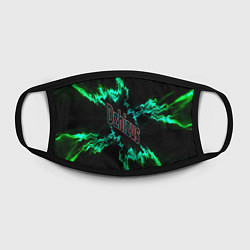 Лицевая защитная маска с принтом Dzhizus, цвет: 3D, артикул: 10201721505881 — фото 2
