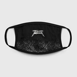 Маска для лица Металлика Metallica цвета 3D-принт — фото 2