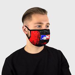Маска для лица LIMP BIZKIT цвета 3D-принт — фото 1