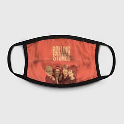 Маска для лица The Rolling Stones цвета 3D-принт — фото 2