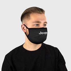 Маска для лица Jeep Z цвета 3D-принт — фото 1