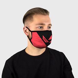 Лицевая защитная маска с принтом VALORANT, цвет: 3D, артикул: 10238371505881 — фото 1