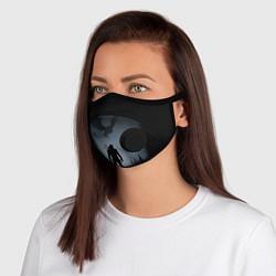 Неопреновая маска с клапаном с принтом ВЕДЬМАК, цвет: 3D-черный, артикул: 10209820905999 — фото 1