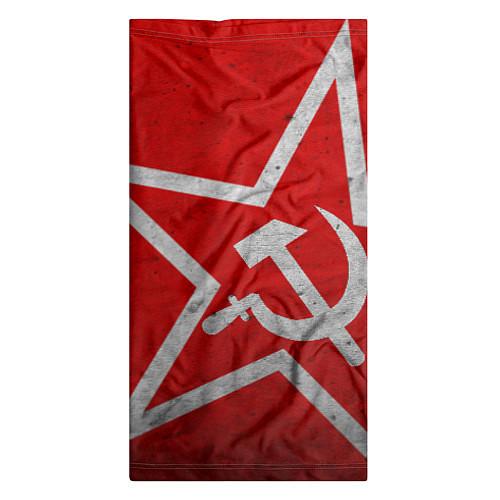 Бандана Флаг СССР: Серп и Молот / 3D – фото 3