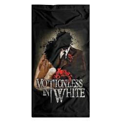 Бандана-труба Motionless in White: Love цвета 3D — фото 2