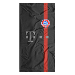 Бандана-труба Bayern FC: Black 2018 цвета 3D — фото 2