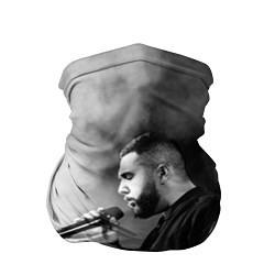 Бандана-труба Jah Khalib: Black mist цвета 3D-принт — фото 1