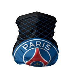 Бандана-труба FC PSG: Blue Lines цвета 3D-принт — фото 1