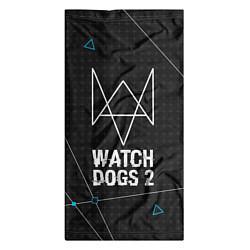 Бандана-труба Watch Dogs 2: Tech Geometry цвета 3D — фото 2