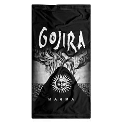 Бандана-труба Gojira: Magma цвета 3D-принт — фото 2