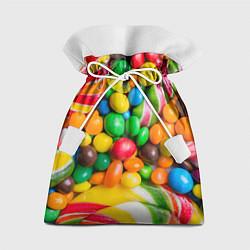 Мешок для подарков Сладкие конфетки цвета 3D — фото 1
