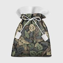 Мешок для подарков Тропический камуфляж цвета 3D — фото 1