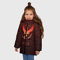 Куртка зимняя для девочки Pokemon 2 цвета 3D-черный — фото 2