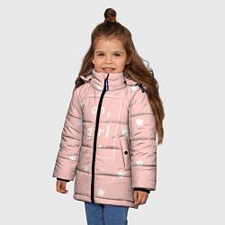 Куртка зимняя для девочки Oh, girl цвета 3D-черный — фото 2