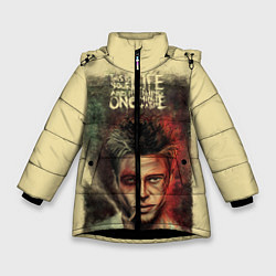 Куртка зимняя для девочки This is your life цвета 3D-черный — фото 1
