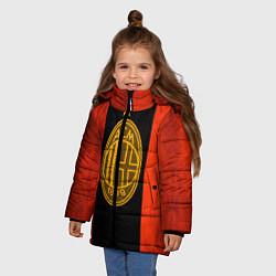Куртка зимняя для девочки Milan5 цвета 3D-черный — фото 2