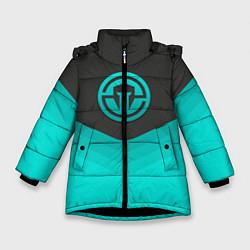 Куртка зимняя для девочки Immortals Uniform цвета 3D-черный — фото 1