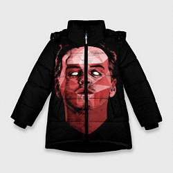 Куртка зимняя для девочки Dark Moriarty цвета 3D-черный — фото 1