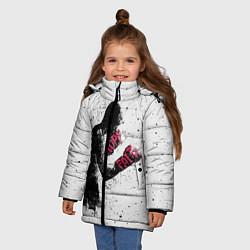 Куртка зимняя для девочки Hope Faith цвета 3D-черный — фото 2
