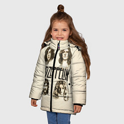 Куртка зимняя для девочки Led Zeppelin Guys - фото 2
