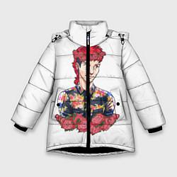 Куртка зимняя для девочки Twenty One Pilots: Red Guy цвета 3D-черный — фото 1