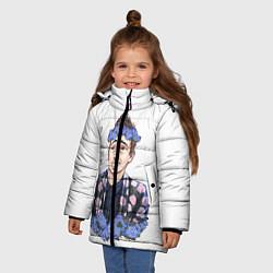Куртка зимняя для девочки Twenty One Pilots: Blue Guy цвета 3D-черный — фото 2