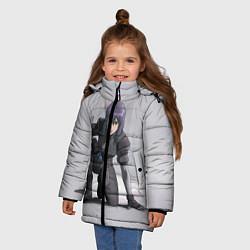 Куртка зимняя для девочки Ghost In The Shell 5 цвета 3D-черный — фото 2