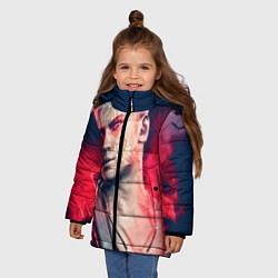 Куртка зимняя для девочки DmC: Devil May Cry цвета 3D-черный — фото 2
