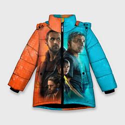 Куртка зимняя для девочки Blade Runner Heroes цвета 3D-черный — фото 1