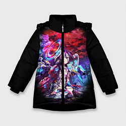 Куртка зимняя для девочки No Game No Life Zero цвета 3D-черный — фото 1