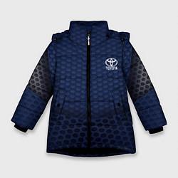 Куртка зимняя для девочки Toyota: Sport Motors цвета 3D-черный — фото 1