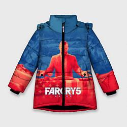 Куртка зимняя для девочки Far Cry 5: Joseph Seed Family цвета 3D-черный — фото 1