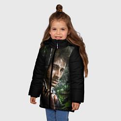 Куртка зимняя для девочки Far Cry 3: Jungle Soldier цвета 3D-черный — фото 2