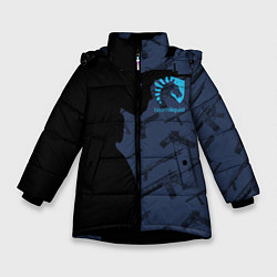 Куртка зимняя для девочки CS:GO Team Liquid цвета 3D-черный — фото 1