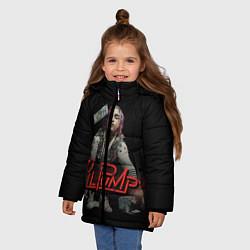 Куртка зимняя для девочки Lil Pump цвета 3D-черный — фото 2
