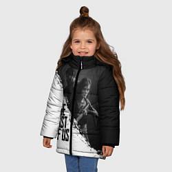 Куртка зимняя для девочки The Last of Us: White & Black цвета 3D-черный — фото 2