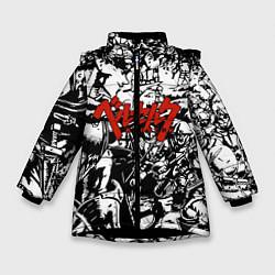 Куртка зимняя для девочки Berserk Stories цвета 3D-черный — фото 1
