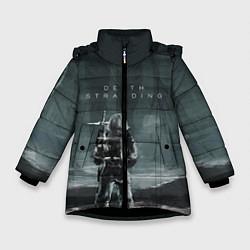 Куртка зимняя для девочки Death Stranding: Dark Space цвета 3D-черный — фото 1