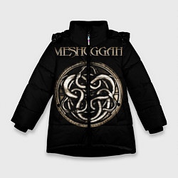 Куртка зимняя для девочки Meshuggah цвета 3D-черный — фото 1