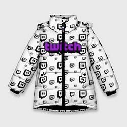 Куртка зимняя для девочки Twitch Online цвета 3D-черный — фото 1