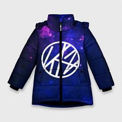 Куртка зимняя для девочки Stray Kids цвета 3D-черный — фото 1