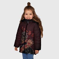 Куртка зимняя для девочки SCARLXRD: Dark Man - фото 2