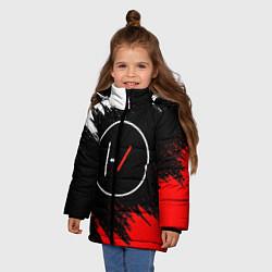 Куртка зимняя для девочки 21 Pilots: Black & Red цвета 3D-черный — фото 2
