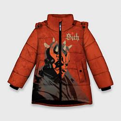 Куртка зимняя для девочки Sith цвета 3D-черный — фото 1