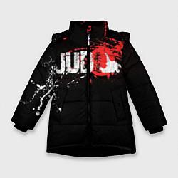 Куртка зимняя для девочки Judo Blood цвета 3D-черный — фото 1