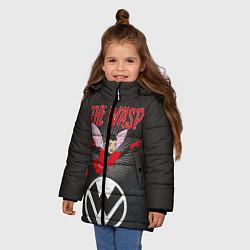 Куртка зимняя для девочки The Wasp comics цвета 3D-черный — фото 2