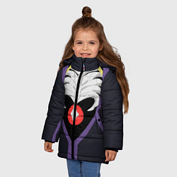 Куртка зимняя для девочки Overlord Momonga цвета 3D-черный — фото 2