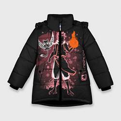 Куртка зимняя для девочки Fairy Tail цвета 3D-черный — фото 1