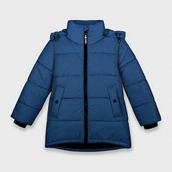 Куртка зимняя для девочки 19-4052 Classic Blue цвета 3D-черный — фото 1